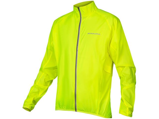 Endura Pakajak Jacket Men neon yellow